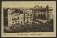 Alger - Square Laferrière et Grande Poste
