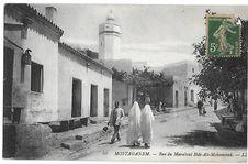 Mostaganem - Rue du Marabout Sidi-Ali-Mohammed