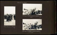 A N'Guigmi, MM. Haardt, Audouin-Dubreuil et le sultan