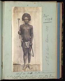 Chef de tribu cafre