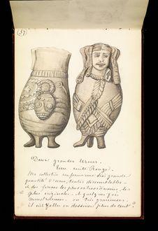 Deux grandes urnes