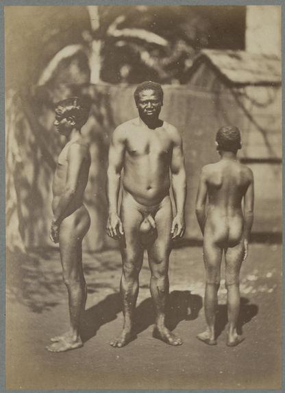 Malgache, nègre créole de la Réunion, Indien