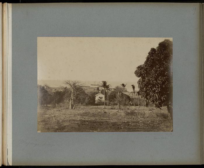 Vue de Majunga, côte ouest
