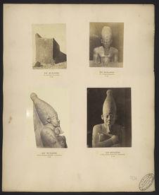 Sân, statue de la reine Nofre