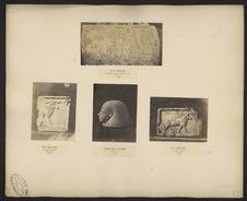 Table royale de Sakkarah, musée du Caire