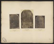 Stèle en pierre calcaire, musée du Caire