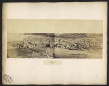 Sân, panorama des ruines