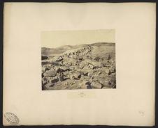 Sân, vue des fouilles