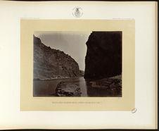 Black Cañon, Colorado River, looking below, near Camp 7