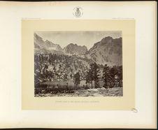 Alpine lake, in the Sierra Nevada, California