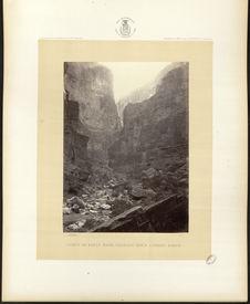 Cañon of Kanab Wash, Colorado River, looking North