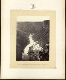 Grand Cañon, Colorado River, near Paria Creek, looking West