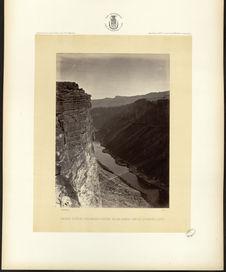 Grand Cañon, Colorado River, near Paria Creek, looking East