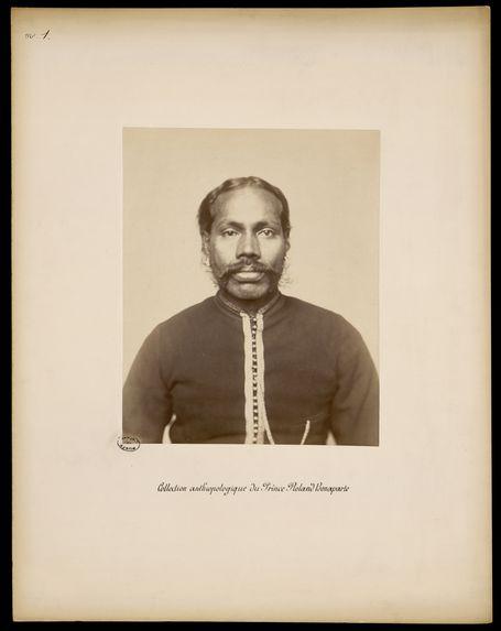 Collection anthropologique du Prince Roland Bonaparte. Hindous. N°11