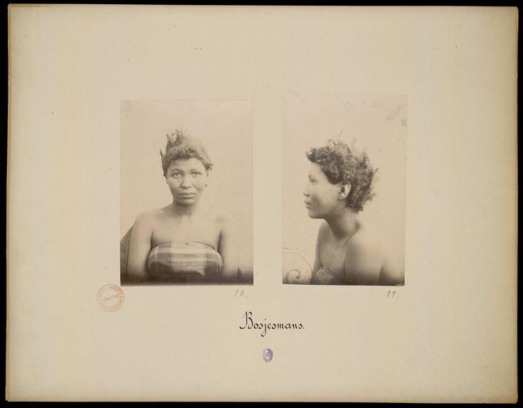 Exposition de 1889. Collection anthropologique du prince Roland Bonaparte. Bosjemans