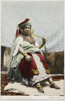 Une Mouquère de Biskra