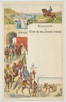 Souvenir des Fêtes du millénaire d'Oran, 902 - 1902