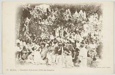 Blida. - Cimetière Sidi-Kebir (Fête des bougies)