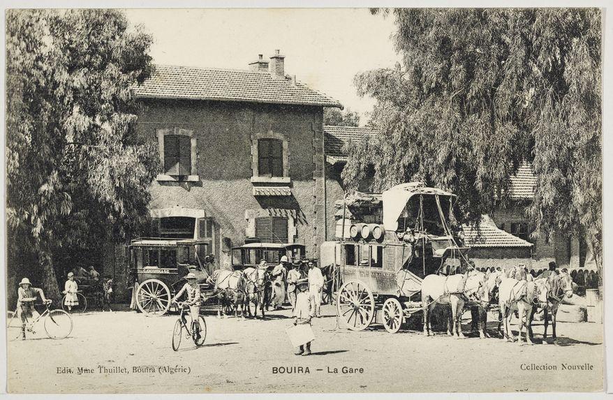 Bouira - La Gare
