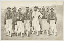 Algérie - Tirailleurs algériens