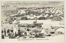 Taourirt (Maroc) - Panorama du Camp