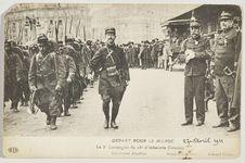 Départ pour le Maroc. La 3e Compagnie du 23e d'Infanterie Coloniale