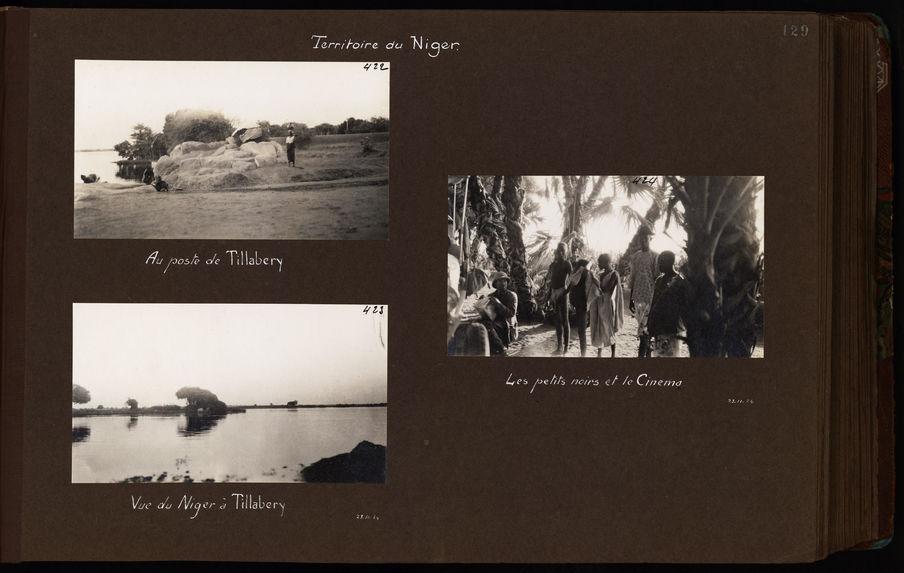 Vue du Niger à Tillabery