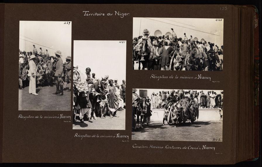 Réception de la mission à Niamey