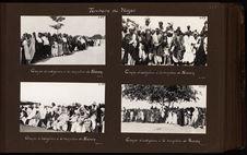 Groupe d'indigènes à la réception de Niamey