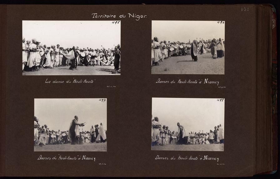 "Danses du ""Kouli-Kouta"" à Niamey"