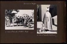 Le sultan de Madarounfa et M. Levy à Maradi