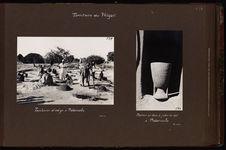 Teinturier d'indigo à Madarounfa