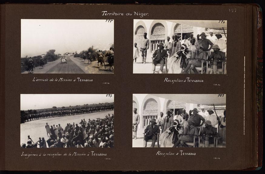 Réception à Tessaoua