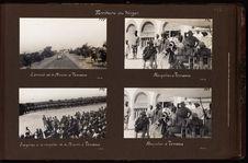L'arrivée de la mission à Tessaoua