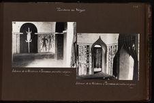 Intérieur de la résidence à Tessaoua