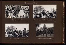 Fétichistes hazena à la fête du Birni à Zinder