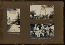 MM. Haardt, Audouin-Dubreuil et le commissaire Hallez à Bengamissa