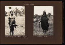 Indigène danbongo avec le makati