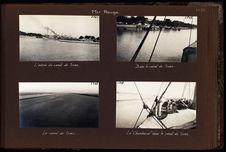 """Le """"Chambord"""" dans le canal de Suez"""