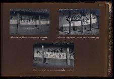 Dessins indigènes sur les cases bandas