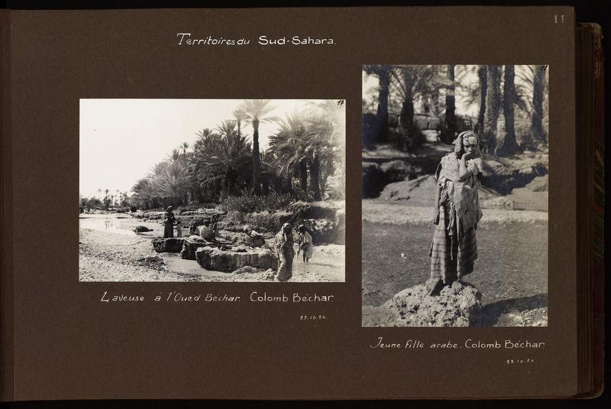 Laveuse à l'Oued Béchar