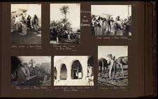 Les arcades d'une maison arabe à Beni-Abbès