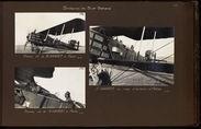 Premier vol de M. Haardt à Adrar