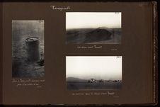 Les voitures dans les dunes avant Tessalit