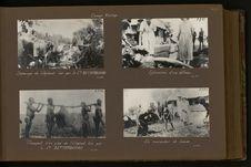 Dépeçage de l'éléphant tué par le commandant Bettembourg