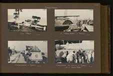 """Embarquement des voitures à Kasenys sur le """"Samuel Baker&quot"""