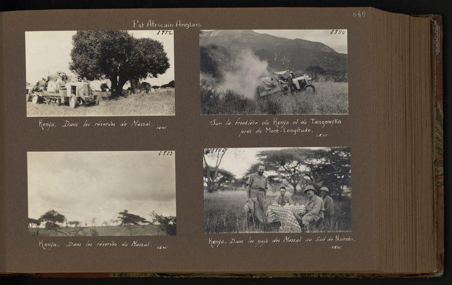 Dans les réserves du Massaï