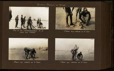 Chasse aux caïmans sur le Chari