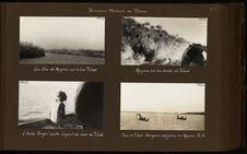 Les îles de papyrus sur le lac Tchad