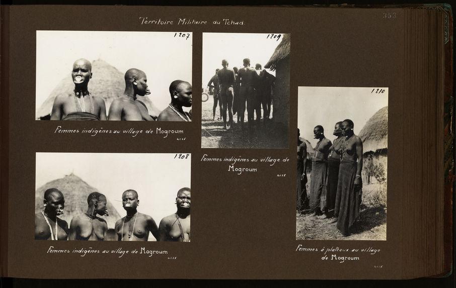 Femmes indigènes au village de Mogroum